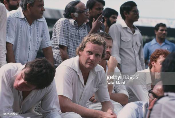 Australian fast bowler Rodney Hogg at the 6th Test against India at Wankhede Stadium Mumbai 3rd7th November 1979