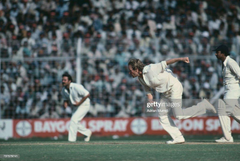 6th Test In Mumbai : News Photo