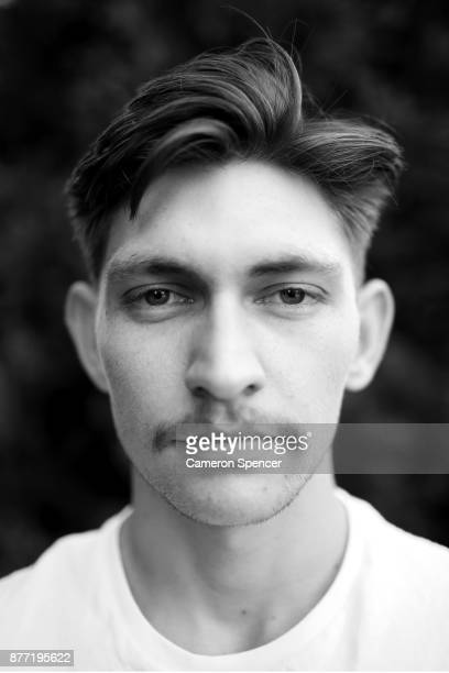 Australian figure skater Harley Windsor poses for a portrait at his home in Rooty Hill on August 16 2017 in Sydney Australia Windsor will become the...