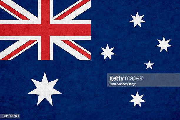 australian flag - australian flag stock pictures, royalty-free photos & images
