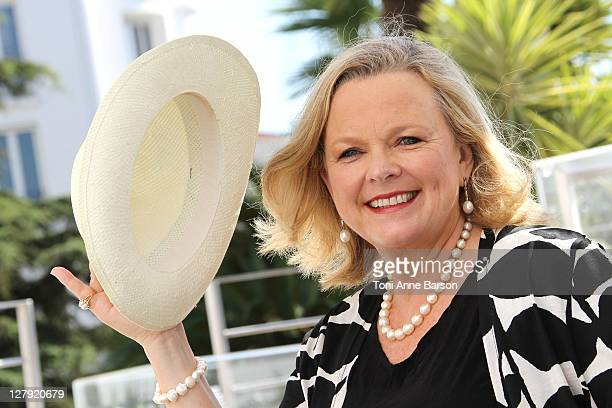 Australian Food and Wine Expert Lyndey Milan attends photocall as part of MIPCOM 2011 at Hotel Majestic on October 3, 2011 in Cannes, France.