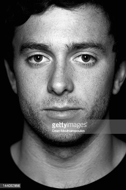 Australian footballl player Tommy Oar of FC Utrecht poses after a training session at the Stadion Galenwaard Training ground on April 26 2012 in...