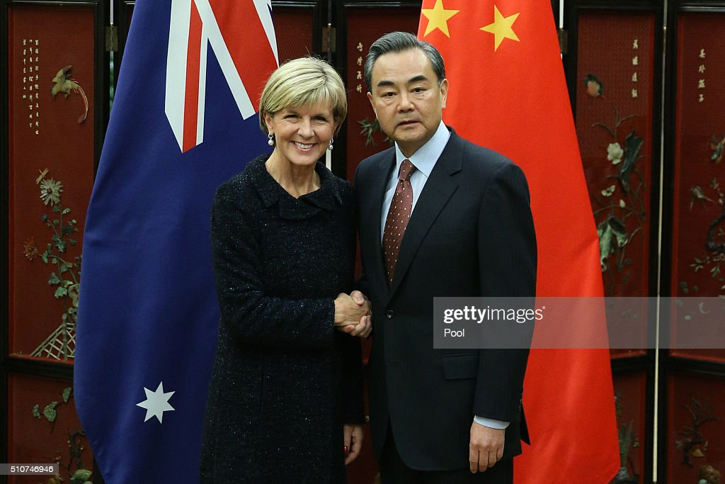 Australian Foreign Minister Julie Bishop Visits Beijing
