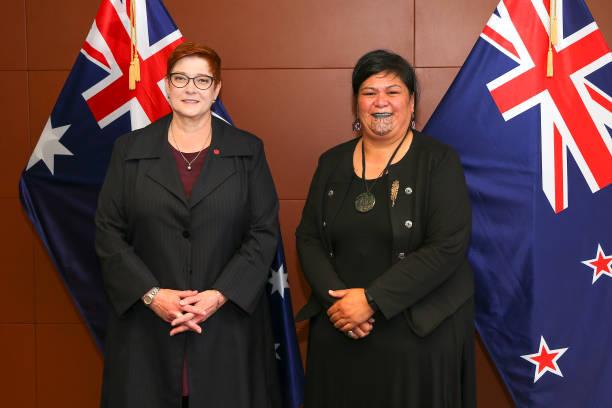 NZL: Australian Foreign Minister Marise Payne Visits New Zealand