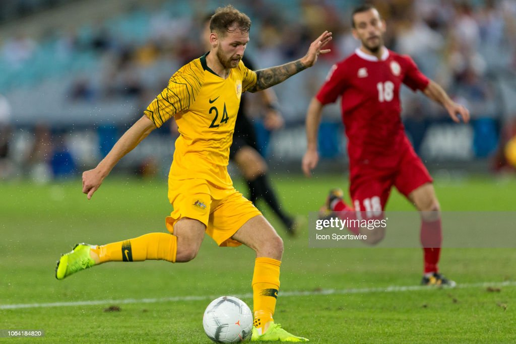 SOCCER: NOV 20 Australia v Lebanon : News Photo