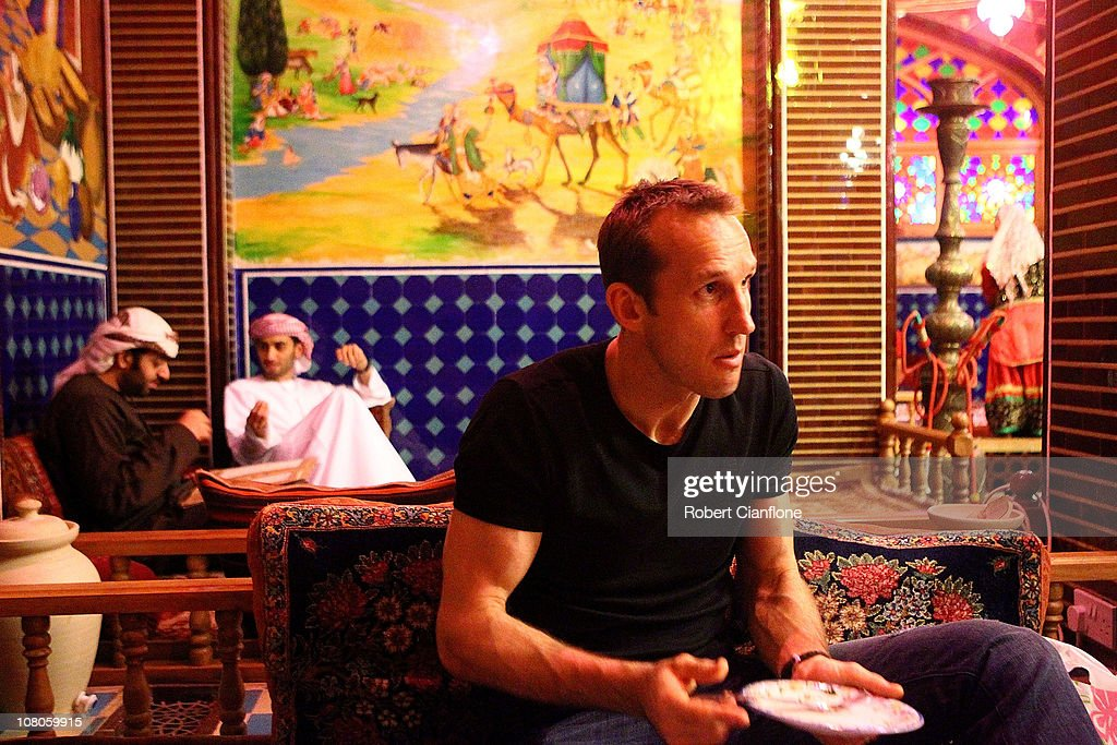 Mark Schwarzer Visits Local Souq