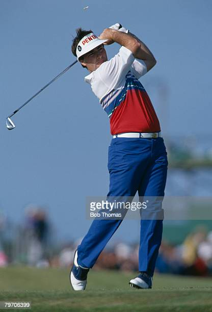 Australian golfer Craig Parry during the British Open Golf Championship held at St Andrews Scotland between the 19th 22nd July 1990