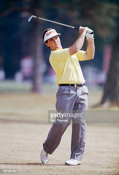 Australian golfer Craig Parry during the Dunlop British Masters Golf Tournament Woburn England May 1990
