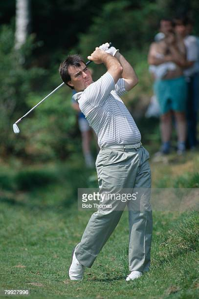 Australian golfer Craig Parry during the Volvo PGA Championship held at Wentworth between the 25th 27th May 1989