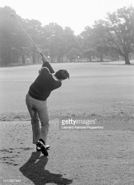 Australian golfer David Graham, circa February 1972. Image number 9 from a sequence of 10. NOTE TO EDITORS: This image is part of an instructional...