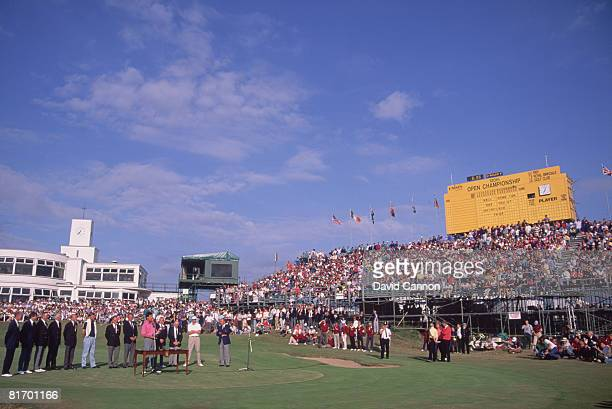 Australian golfer Ian BakerFinch wins the British Open Championship at the Royal Birkdale golf course 1991
