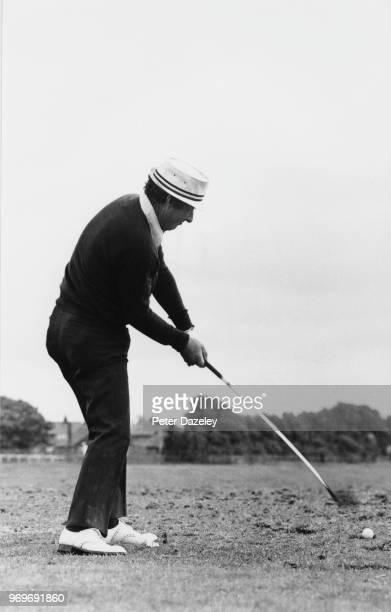 Australian golfer Peter Thomson at BRITISH Open golf Championship 1974 Royal Lytham St Annes Golf Club in Lancashire England held July 1974