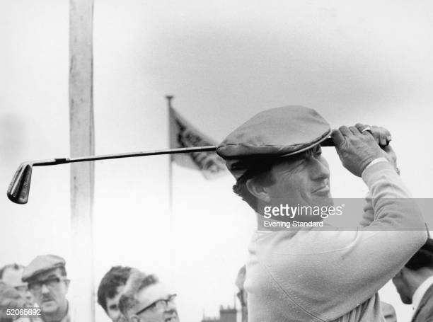Australian golfer Peter Thomson in action July 1967