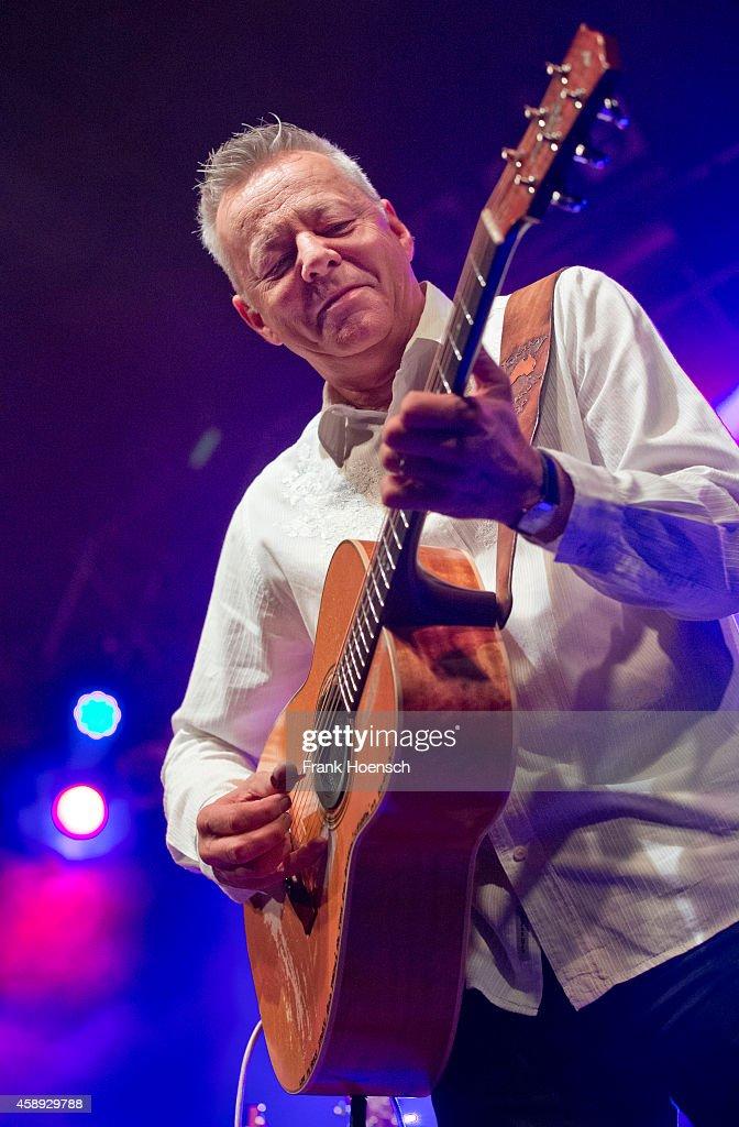 Australian guitarist and singer Tommy Emmanuel performs live