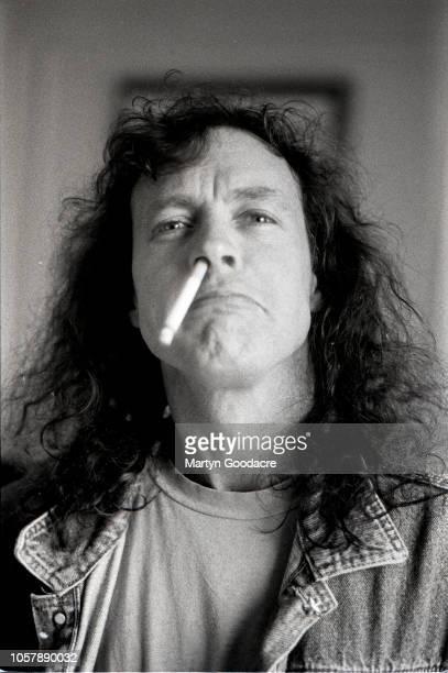 Australian guitarist Angus Young of AC/DC portrait Germany 1995