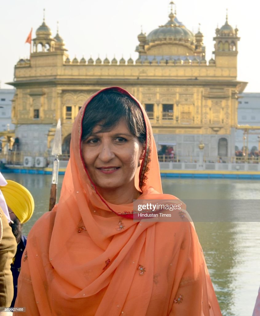 Australian High Commissioner Harinder Sidhu Visits Golden Temple