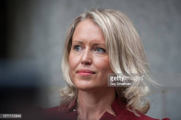 Australian human rights lawyer Jennifer Robinson at the Old Bailey as the extradition hearing for WikiLeaks founder Julian Assange resumes on...