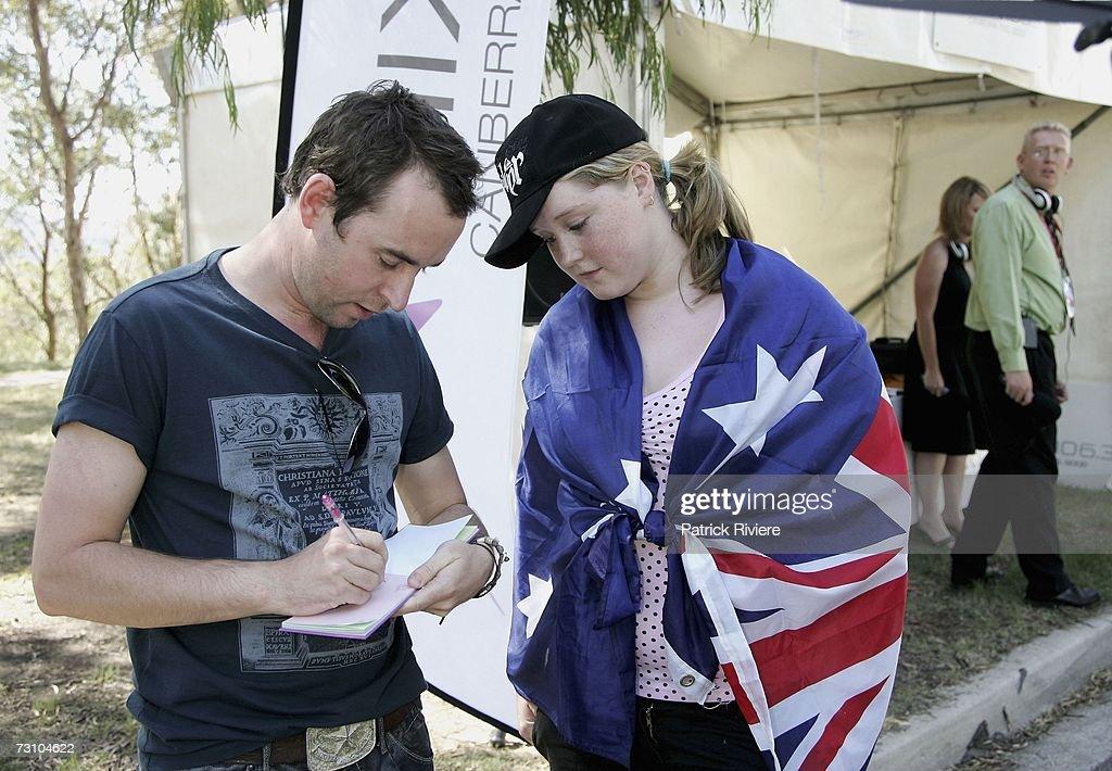 Australia Day Live 07 Concert & Australian Of The Year Awards : News Photo