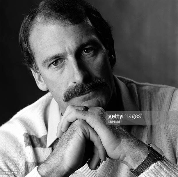 Australian international test cricketer Dennis Lillee a notable fast bowler of his generation photographed in the Studio on 12th April 1984
