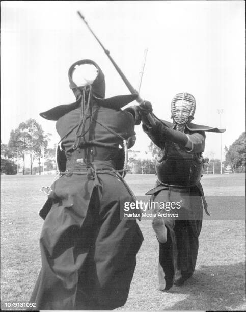 Australian Kendo Championships 50 Kendo players from Sydney Melbourne Brisbane and Canberra including 7 girls weilding bamboo swords battled out the...