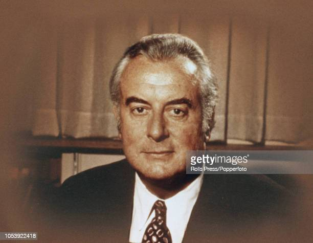 Australian Labor Party politician and Prime Minister of Australia Gough Whitlam pictured circa 1973