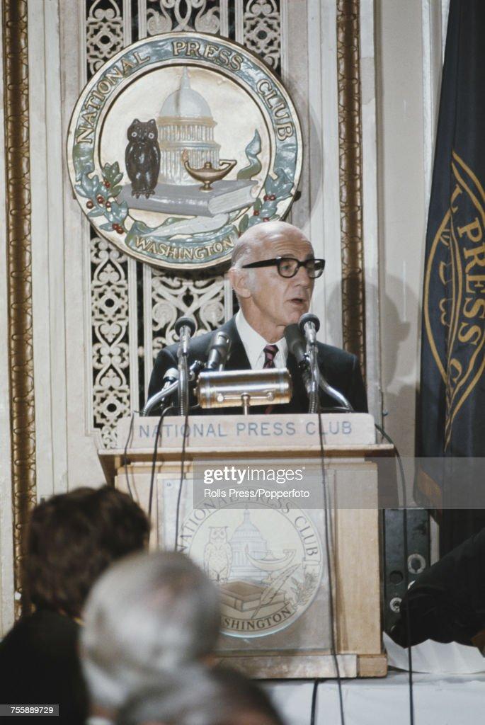 William McMahon In Washington DC : Photo d'actualité