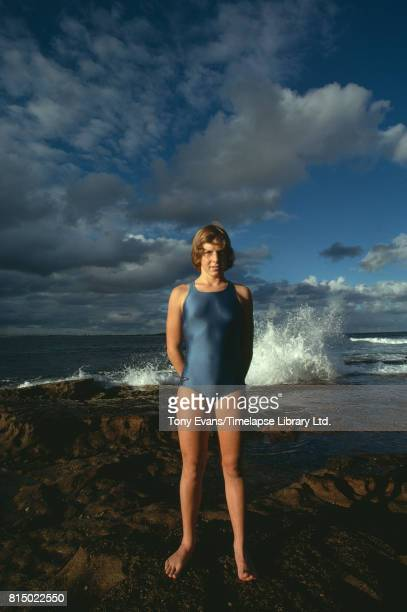 Australian longdistance freestyle and butterfly swimmer Michelle Ford 1976