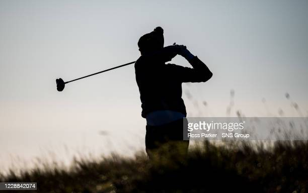 Australian Lucas Herbert in action during the Aberdeen Standard Investments Scottish Open at the Renaissance Club on October 02 in North Berwick,...