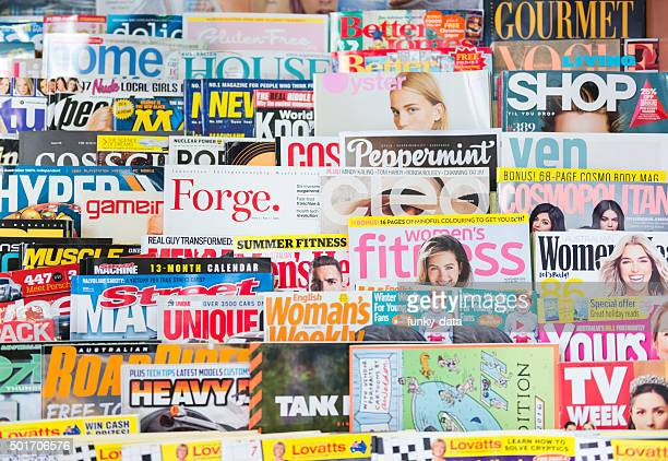 australian magazines - magazine stock pictures, royalty-free photos & images