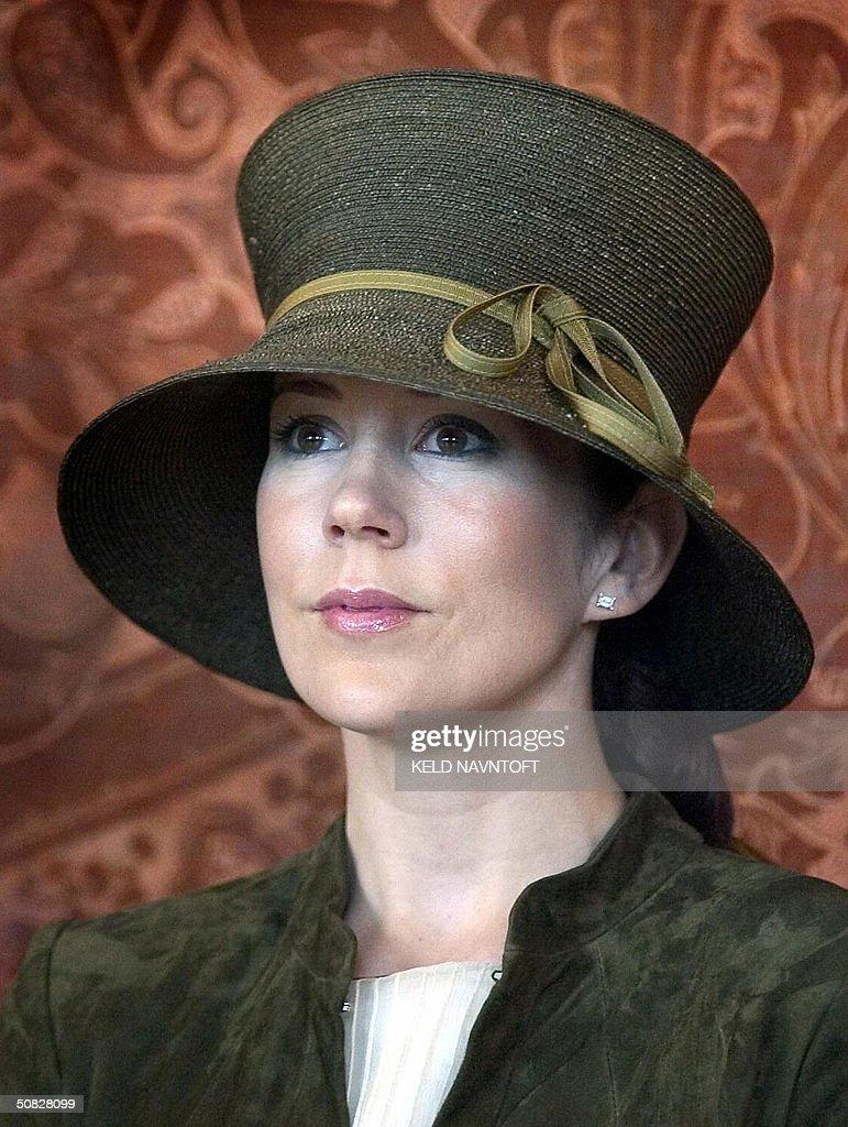 Australian Mary Donaldson, the fiancee o : Nachrichtenfoto