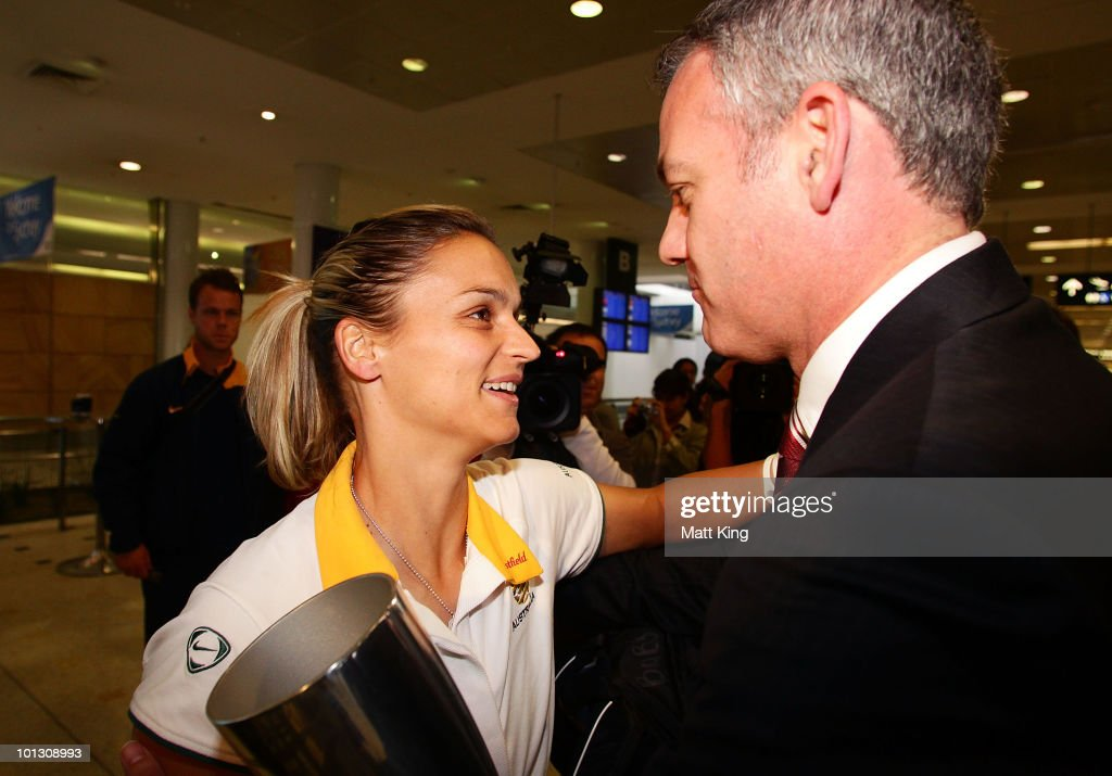 Australian Team Arrive Home After Winning AFC Women's Asian Cup