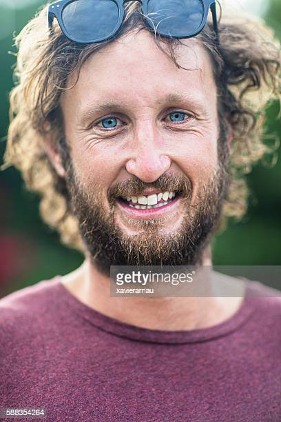 Australian mid adult man portrait