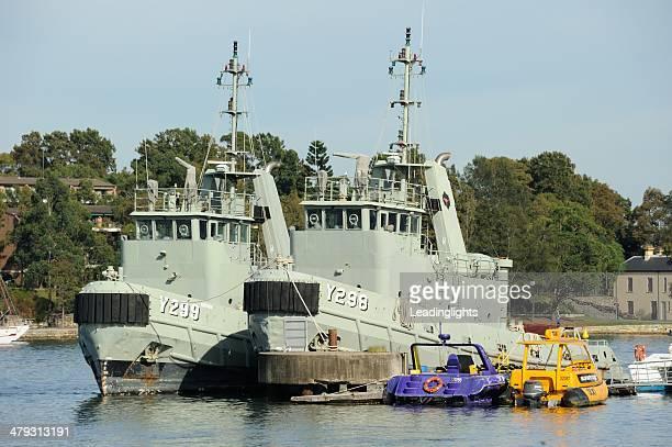 オーストラリア minesweepers - オーストラリア海軍 ストックフォトと画像