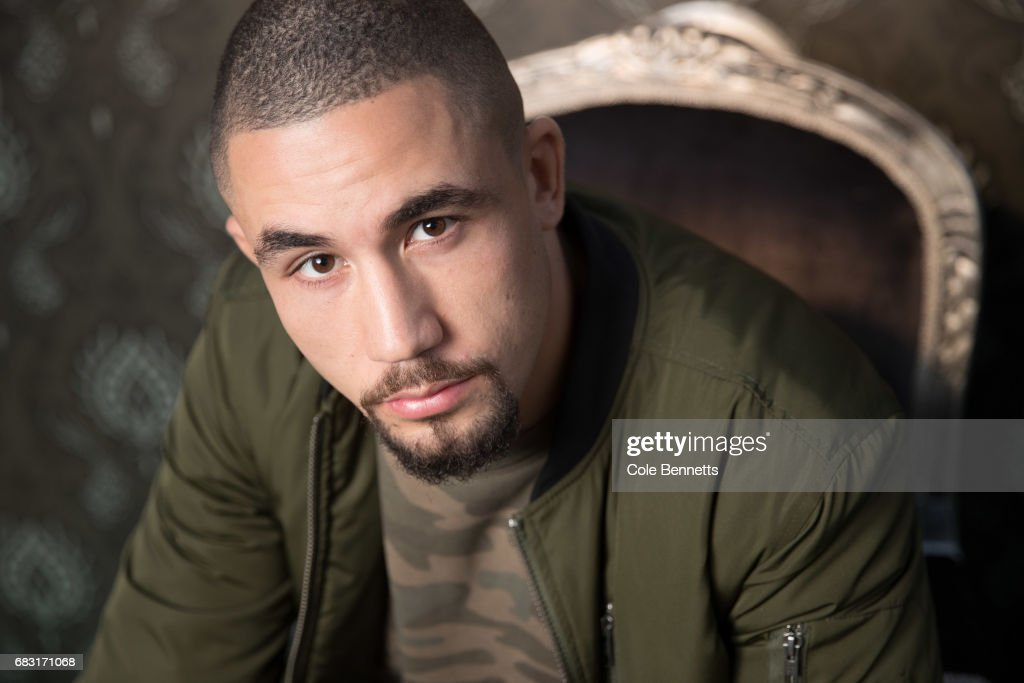 Australian MMA fighter, Robert Whittaker poses for a photograph at Mercedes-Benz Fashion Week Resort 18 Collections at Carriageworks on May 15, 2017 in Sydney, Australia.