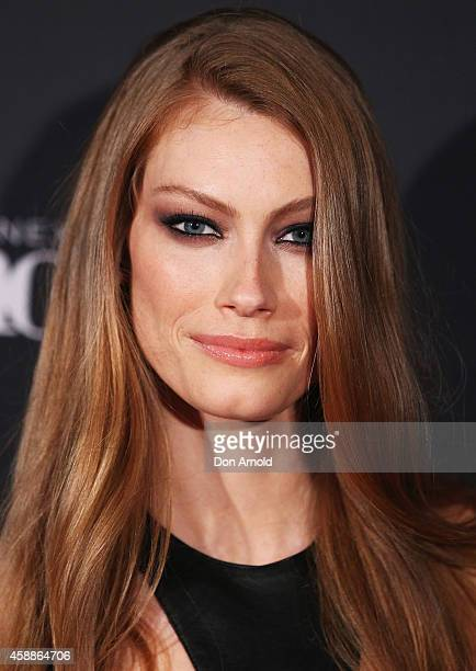 Australian model and actress Alyssa Sutherland who will appear as guest judge on Australia's Next Top Model poses during a photo call in Surry Hills...