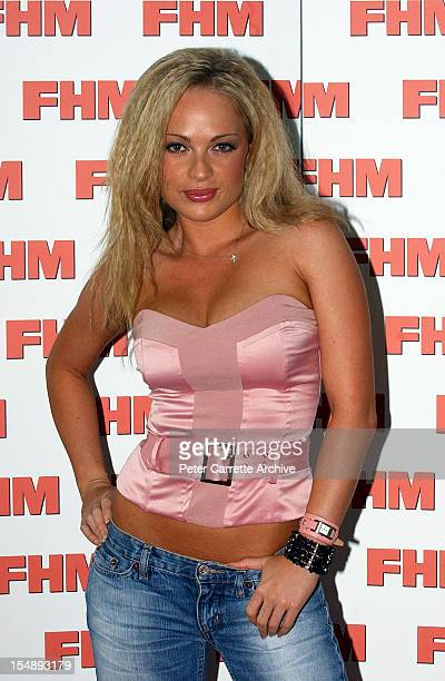 Australian model Imogen Bailey attends the 2004 FHM Magazine 100 Sexiest Women Party at ECQ Bar at Circular Quay on March 26 2004 in Sydney Australia