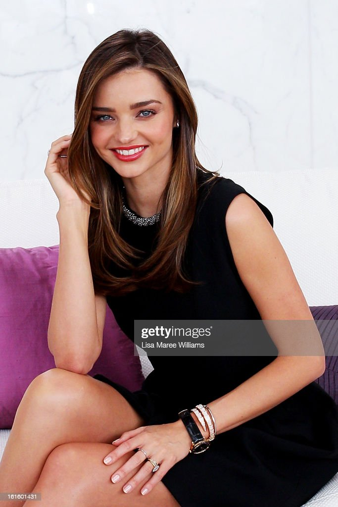 Miranda Kerr Hair Stock Photos And Pictures Getty Images