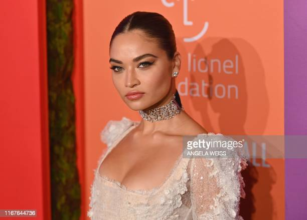 AUstralian model Shanina Shaik arrives for Rihanna's 5th Annual Diamond Ball Benefitting The Clara Lionel Foundation at Cipriani Wall Street on...