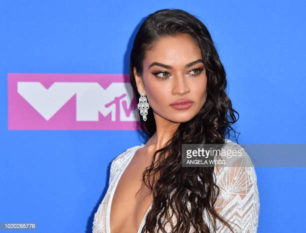 Australian model Shanina Shaik attends the 2018 MTV Video Music Awards at Radio City Music Hall on August 20 2018 in New York City