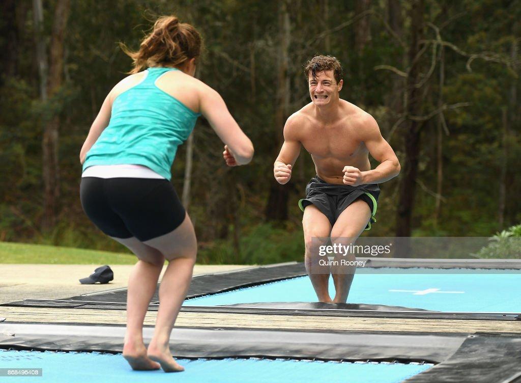 Australian Ski Jump Training Session : ニュース写真