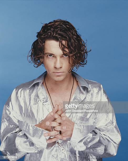 Australian musician and actor Michael Hutchence August 1990