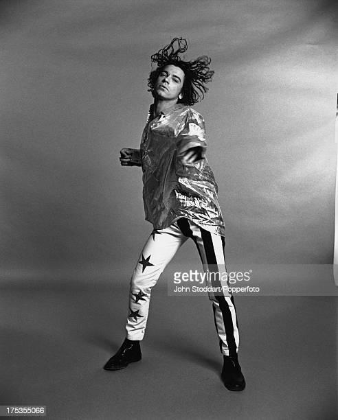 Australian musician Michael Hutchence August 1990
