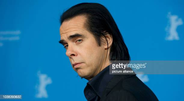Australian musician Nick Cave poses during the photocall for '20.000 days on earth' at the 64th annual Berlin Film Festival, in Berlin, Germany, 10...