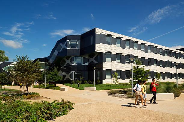 australian national university - linnaeus building - australian national university stock pictures, royalty-free photos & images