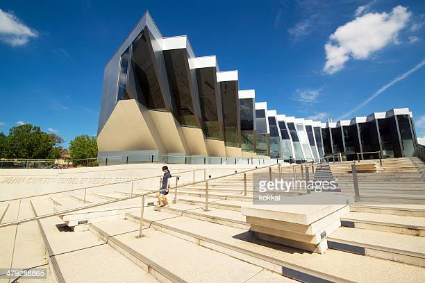 australian national university - national landmark stock pictures, royalty-free photos & images