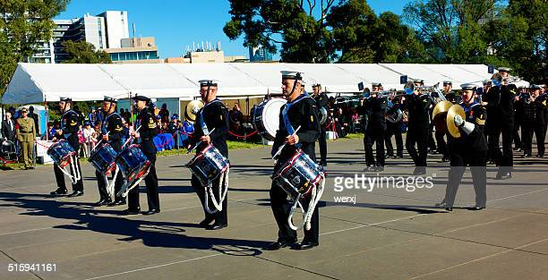 Australian Navy during ANZAC Day March