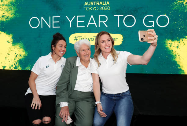 AUS: Australian Olympic Committee One Year To Go Tokyo 2020
