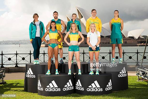 Australian Olympians, Holly Lincoln-Smith, Morgan Mitchell, Adam Gibson, Sally Pearson, Madison Wilson, Brooke Stratton, Kyle Chalmers and Stephanie...