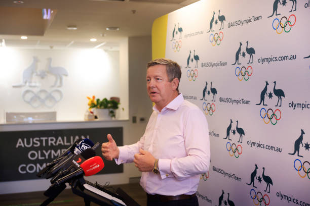 AUS: Australian Olympic Committee CEO Matt Carroll Comments On Tokyo Olympic Games
