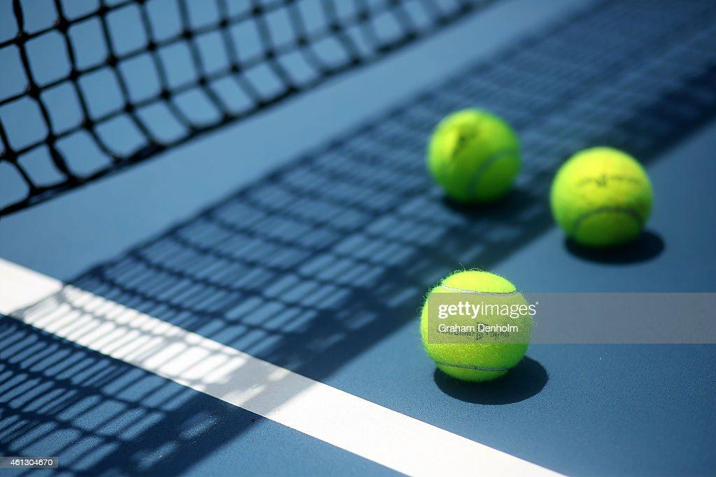 2015 Australian Open Previews : News Photo